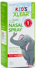 XLEAR Kid's Nasal Spray With Xylitol Xlear 0.75 oz (Pack of 4)