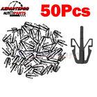 50pcs Radiator Grille Clip Clearance Lamp Headlight Quarter Window Trim Retainer
