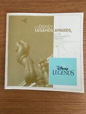 D23 - Disney Legends 2011 Program Guide Book - Jim Henson