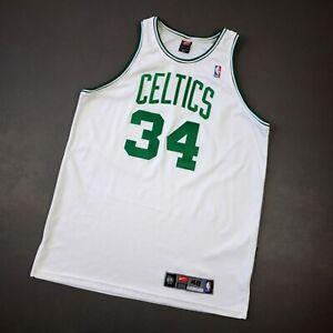 100% Authentic Paul Pierce Vintage Nike Celtics Jersey Size 48 XL Mens