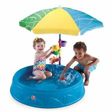 Kids Plastic Swimming Pool Party Set Baby Play Shade Toddler Outdoor Swim Step2