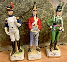 Alfretto Officer 1815 Porcelain Soldier figurines Lot 3