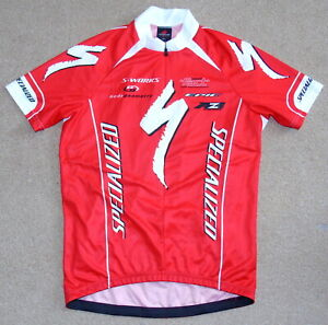 """PERFECT CONDITION SPECIALIAZED JERSEY. XXL 43"""" CIRCUMFERENCE"""