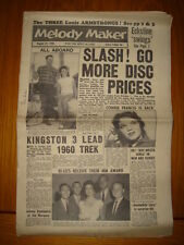 MELODY MAKER 1959 AUG 22 JAZZ SWING LOUIS ARMSTRONG