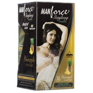 Manforce Staylong Pineapple Flavored Condom 10 PcsPcs