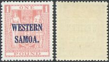 Western Samoa - MH Stamps + Certificate D103