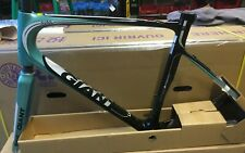 NEW 2014 GIANT AVAIL ADVANCED 1 FRAMESET MATTE COMPOSITE/AQUA/WHITE LARGE