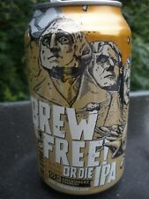 """New listing Unique One Of A Kind! """"Brew Free Or Die Ipa"""" 12 oz Beer Can w/free Beer Coaster!"""