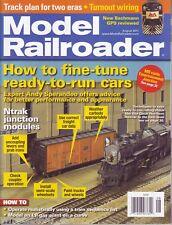 Model Railroading August 2011 GN Box cars LN PC Diesel