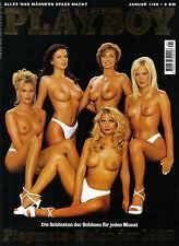 Playboy Januar/01/1998   KIMBER WEST & ALEXANDRA NELDEL + Kalender!