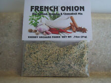 French Onion Dip Mix, makes dips, spreads, cheese balls & salad dressings