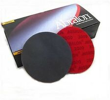 "Abralon 150mm (6"") Pads - Mixed Pack - 2 each of  P360, 500, 1000, 2000, 4000"