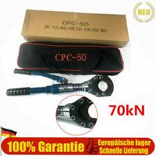 USED  Hydraulische Kabelschneider Kupfer Trennschere 50mm 70kN Kabel CU