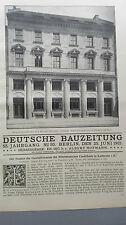 1921 50 Karlsruhe Geschäftshaus Mitteldeutsche Kreditbank ...2 Hefte