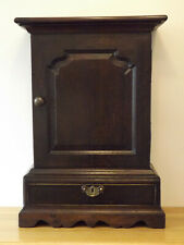 More details for queen anne/george 1st oak table top/sideboard top multi drawer spice cabinet