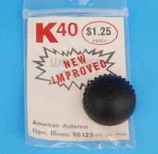 Vintage NOS Black American Antenna K40 Electronics CB Weather Cap Rare