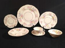 Syracuse Briarcliff China Set Seven (7) of Imperfect Pieces Federal Shape USA