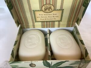Michel Design Works Grapefruit Ginger Soap Bars Vegetable Palm Oil Shea Butter