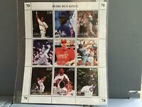 Tuva Baseball mint never hinged   stamps  sheet R25342