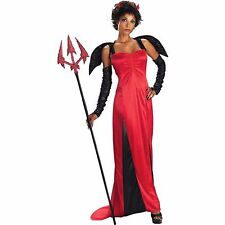 DESIRABLE DEVIL ADULT HALLOWEEN COSTUME WOMEN'S SIZE LARGE 12-14