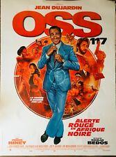 Affiche cinéma OSS 117 - ALERTE ROUGE EN AFRIQUE NOIRE 120x160cm Poster ROULÉ
