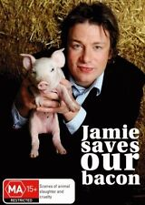 JAMIE SAVES OUR BACON (Jamie Oliver) -  DVD - UK Compatible -  sealed