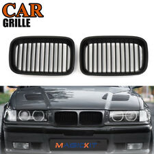 2x Front Kidney Grill Grilles for BMW 3-Series E36 Sedan/E36 Coupe 1993–1996