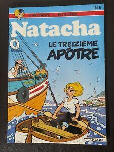 Bande dessinée BD EO 1978 Natacha Tome 6 quasi neuf ‐ Tintin spirou asterix