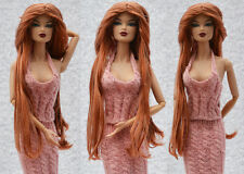 "Sherry Fashion Saran Doll Wig /11.5-12"" FR2/PP/Fashion Royalty/Silkstone(5-FW-4"