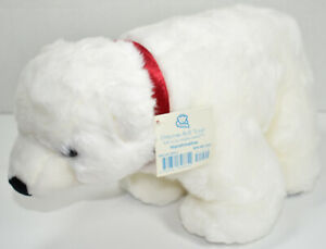 Princess Soft Toys MARSHMALLOW THE POLAR BEAR Stuffed Animal PLUSH SOFT TOY New
