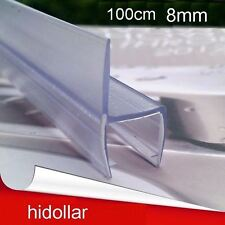 PVC PLASTIC SHOWERSCREEN SHOWER SCREEN DOOR WATER SEAL STRIP LINING FOR 8MM
