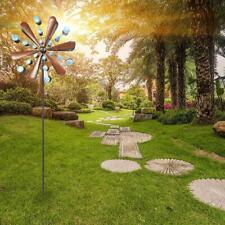 Metal Wind Spinners Kinetic Garden Windmill Outdoor Yard Lawn Decor Art Modern