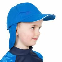 Trespass Cabello Kids Summer Hat Cotton Holiday Cap With Neck Protector