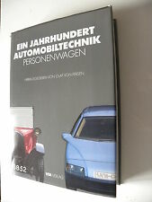 Livre automobile en allemand : Ein jahrhundert automobiltechnik personenwagen