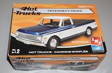 1972 Chevy Truck Hot Trucks AMT 1/25 Complete & Unstarted.