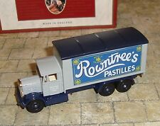LLEDO - DAYS GONE -1937 SCAMMELL 6 WHEELER TRUCK - ROWNTREE'S PASTILLES - BOXED