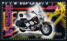Harley Davidson Softail Heritage FLSTC 105th Ann. Motorbike Motorcycle Stamp