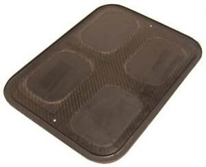 K&N Carbon fiber base plate 19 inch length K&N sprint style air box 100-8565