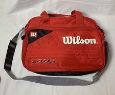 Wilson Tour Red Handbag Cross Shoulder