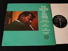 Oscar Peterson-The Sound Of The Trio-ORIGINAL 1962 US Verve Jazz LP-CLEAN!