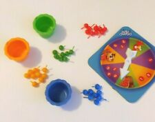 Hi Ho Cherry-O Replacement Game Pieces (Lot of 38) Spinner, Buckets, Cherries
