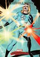 INVISIBLE WOMAN / 2007 Marvel Masterpieces BASE Trading Card #41