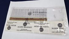 Lot 38 Allen Bradley Resistor 47k Ohm 1/2 Watt 10% Original Package NOS ID2