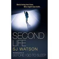 Second Life, Watson, S J   Paperback Book   Good   9781784161644