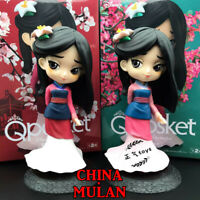 Q  Mulan Princess PVC figure figures doll gift anime toy new