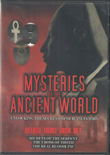MYSTERIES OF THE ANCIENT WORLD (DVD 2009 3-Disc Set) (M2)