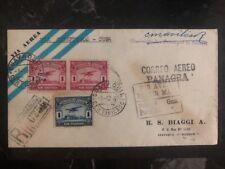 1930 Guayaquil Ecuador First Flight cover FFC to Cienfuegos Panagra 66 Flown