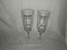 Cristal D'Arques,Meridien,Luminary,Glass,Original,Champagne,Flutes - (2)