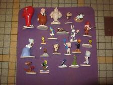 Lot  21 Figurines LOONEY TUNES ATLAS / WARNER BROS /RESINE