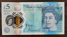 Five 5 Pounds Polymer Note AA19 29 21 04 QUEEN ELIZABETH II 3RD BIRTHDAY